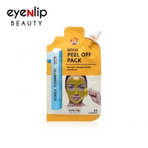Маска-пленка очищающая для лица Eyenlip Gold Peel Off Pack 25g