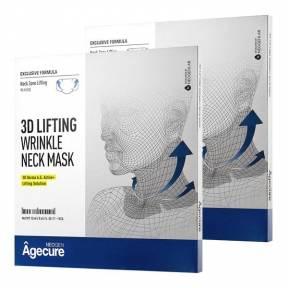 Тканевая лифтинг-маска для шеи Neogen Agecure 3d Lifting Wrinkle Neck Mask 13ml