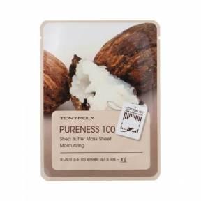 Увлажняющая Маска С Маслом Ши Tony Moly Pureness 100 Shea Butter Mask Sheet