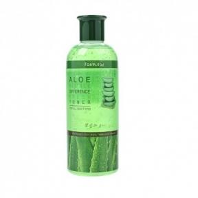 Тонер успокаивающий с экстрактом алоэ Farmstay Visible Difference Fresh Toner Aloe 350ml