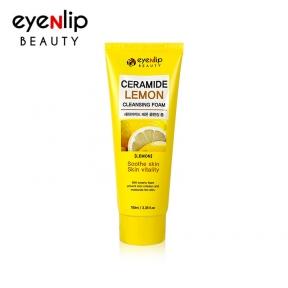 Пенка для умывания с керамидами и экстрактом лимона для лица Eyenlip Ceramide Lemon Cleansing Foam 100ml