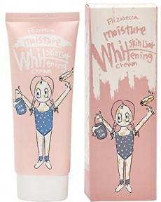 Осветляющий крем с гиалуроновой кислотой для лица Elizavecca Milky Piggy Moisture Whitening Cream 100ml