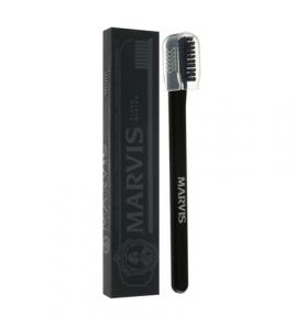 Зубная щетка Marvis Toothbrush средней жесткости (medium), черная, 1 шт