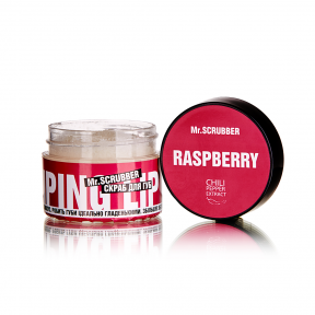 Скраб сахарный с ароматом малины для губ Mr.Scrubber Wow Lips Raspberry 35ml