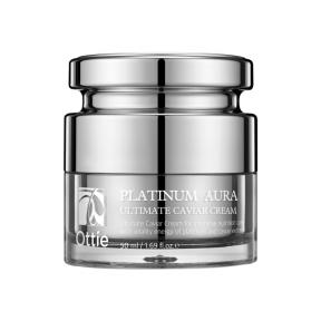 Крем Премиальный С Платиной  И Черной Икрой  Ottie Platinum Aura Ultimate Caviar Cream