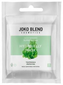 Маска гидрогелевая с морскими водорослями для лица Joko Blend Super Green Hydrojelly Mask 20g