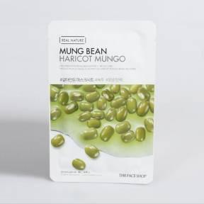 Маска увлажняющая с экстрактом бобов мунг The Face Shop Real Nature Mungbeans Mask 20g