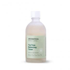 Натуральный тонер с экстрактом чайного дерева для проблемной и жирной кожи Aromatica Tea Tree Balancing Toner 130ml
