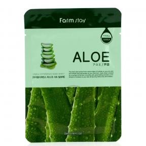 Маска увлажняющая с экстрактом алоэ Farmstay Visible Difference Mask Sheet Aloe 25ml