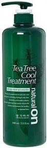 Кондиционер для всех типов волос охлаждающий на основе чайного дерева Daeng Gi Meo Ri Naturalon Tea Tree Cool Treatment 1000ml