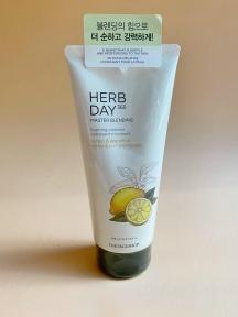 Пена Для Умывания С Экстрактом Лимона The Face Shop Herb Day 365 Cleansing Foam Lemon