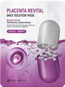 Тканевая маска с плацентой Enough Bonibelle Placenta Revital Daily Solution Mask 23ml