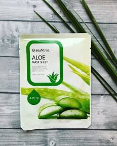 Тканевая Маска С Экстрактом Алое SeaNtree Aloe Mask Sheet  20ml
