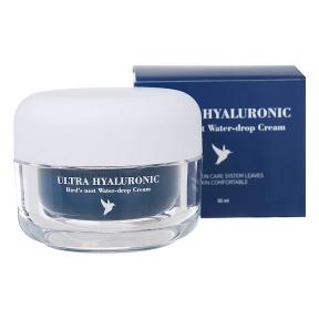 Крем для лица с экстрактом ласточкиного гнезда и гиалуроновой кислотой Esthetic House Ultra Hyaluronic Acid Bird's Nest Water-Drop Cream, 50ml