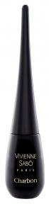 Подводка жидкая черная для глаз Vivienne Sabo Charbon №01 6 ml