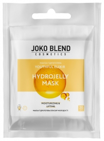 Маска гидрогелевая с белой икрой для лица Joko Blend Youthful Elixir Hydrojelly Mask 20g