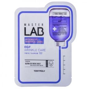 Маска профессиональная омолаживающая с эпидермальным фактором роста Tony Moly Master Lab EGF Wrinkle Care Mask 19ml
