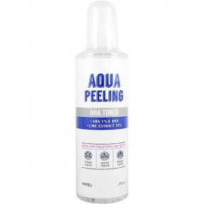 Пилинг-Тонер С АНА Кислотами A'pieu Aqua Peeling AHA Toner 250 мл