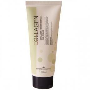 Крем питательный с коллагеном и растительными экстрактами для глаз Esthetic House Collagen Herb Complex Eye Cream 100ml