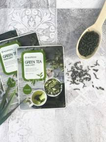 Тканевая Маска С Экстрактом Зеленого Чая SeaNtree Green Tea Mask Sheet 20ml