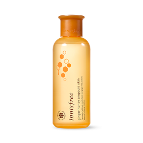 Тонер для лица питательный с медом и имбирем Innisfree Ginger Honey Ampoule Skin 200ml
