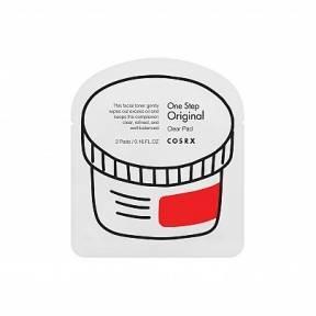 Диски Для Очищения Дермы COSRX One Step Original Clear Pad 2шт