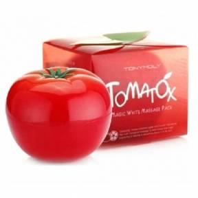 Осветляющая И Выравнивающая Тон Лица Томатная Маска Tony Moly Tomatox Magic Massage Pack