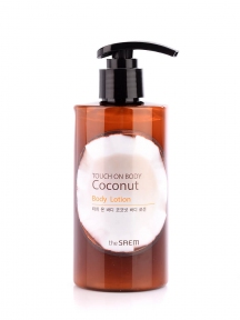 Лосьон для тела с кокосом The Saem Touch on Body Coconut Body Lotion 300ml