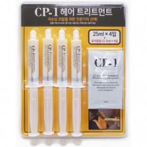 Набор масок укрепляющих с кератином для волос Esthetic House CP-1 Premium Hair Treatment Blister Package 150ml