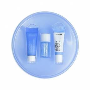 Набор миниатюр для глубокого увлажнения кожи лица: крем-гель, эссенция и крем Dr.Jart+ Vital Hydra Kit 15ml