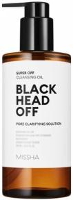 Гидрофильное масло для проблемной кожи против чёрных точек Missha Super Off Cleansing Oil (Blackhead Off) 305ml