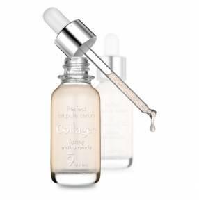 Сыворотка-Ампула Омолаживающая С Коллагеном И Гиалуроновой Кислотой 9Wishes Ultimate Collagen Ampule Serum 25ml