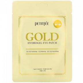 Гидрогелевые патчи для глаз с золотым комплексом Petitfee Gold Hydrogel Eye Patch, 1Pair