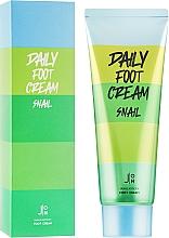 Крем для кожи ног с муцином улитки J:ON Daily Foot Cream Snail 100ml