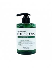 Гель многофункциональный успокаивающий с кислотами для лица Some By Mi AHA BHA PHA Real Cica 92% Cool Calming Soothing Gel 300ml