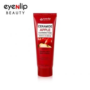 Пенка для умывания с керамидами и экстрактом яблока для лица Eyenlip Ceramide Apple Cleansing Foam 100ml