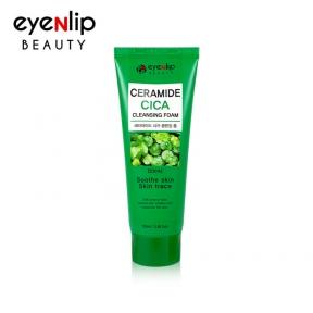 Пенка для умывания с керамидами и центеллой для лица Eyenlip Ceramide Cica Cleansing Foam 100ml