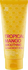 Скраб для тела «Манго» с солью и сахаром J:ON Tropical Mango Smoothing Sugar Body Scrub 250g