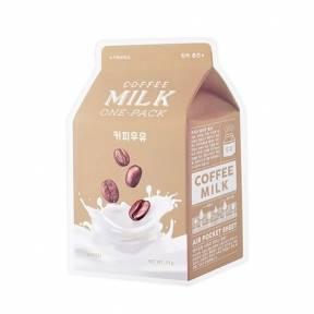 Маска С Молочными Протеинами И Кофеином A'pieu Milk One Pack Coffee Milk