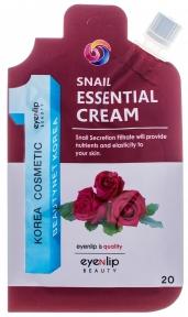 Крем восстанавливающий с муцином улитки для лица Eyenlip SNAIL ESSENTIAL CREAM 20ml
