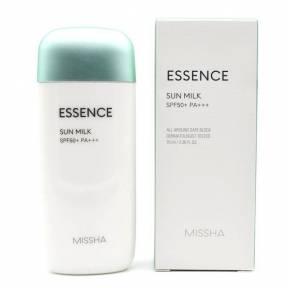 Солнцезащитное Увлажняющее Молочко-Эссенция Missha All Around Safe Block Essence Sun Milk SPF50+ / PA+++ 70ml