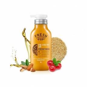 Органический шампунь с экстрактом гранолы и мёда для поврежденных волос Fresh Pop Sweet Almond oil & Granola Shampoo 500ml