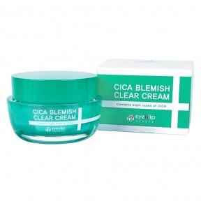 Крем для лица с центеллой азиатской от несовершенств кожи Eyenlip Cica Blemish Clear Cream 50g