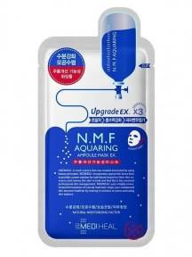 Тканевая Маска Профессиональная Интенсивно Увлажняющая Mediheal NMF Aquaring  Ampoule Mask