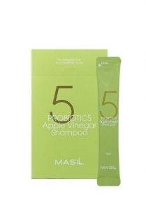 Шампунь для волос бессульфатный с проботиками и яблочным уксусом Masil 5 Probiotics Apple Vinegar Shampoo 8ml