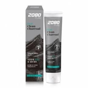 Зубная Паста С Древесным Углем Aekyung 2080 Black Clean Charcoal Toothpaste
