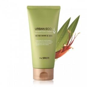 Пена для умывания увлажняющая с экстрактом льна The Saem Urban Eco Harakeke Foam Cleanser 150ml
