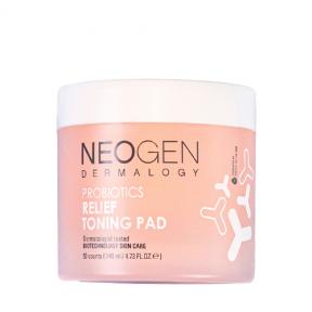 Тонер-пэды увлажняющие с пробиотиками для лица Neogen Probiotics Relief Toning Pad 50Pads