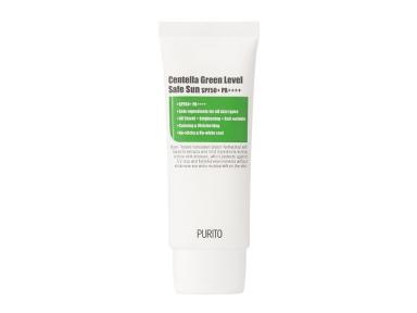 Солнцезащитный крем успокаивающий с экстрактом центеллы Purito Centella Green Level Safe Sun 50+PA++++ 60ml