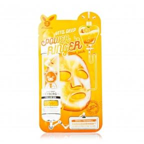 Маска тканевая укрепляющая с экстрактом арбуза Elizavecca Vita Deep Power Ringer Mask Pack 23 ml
